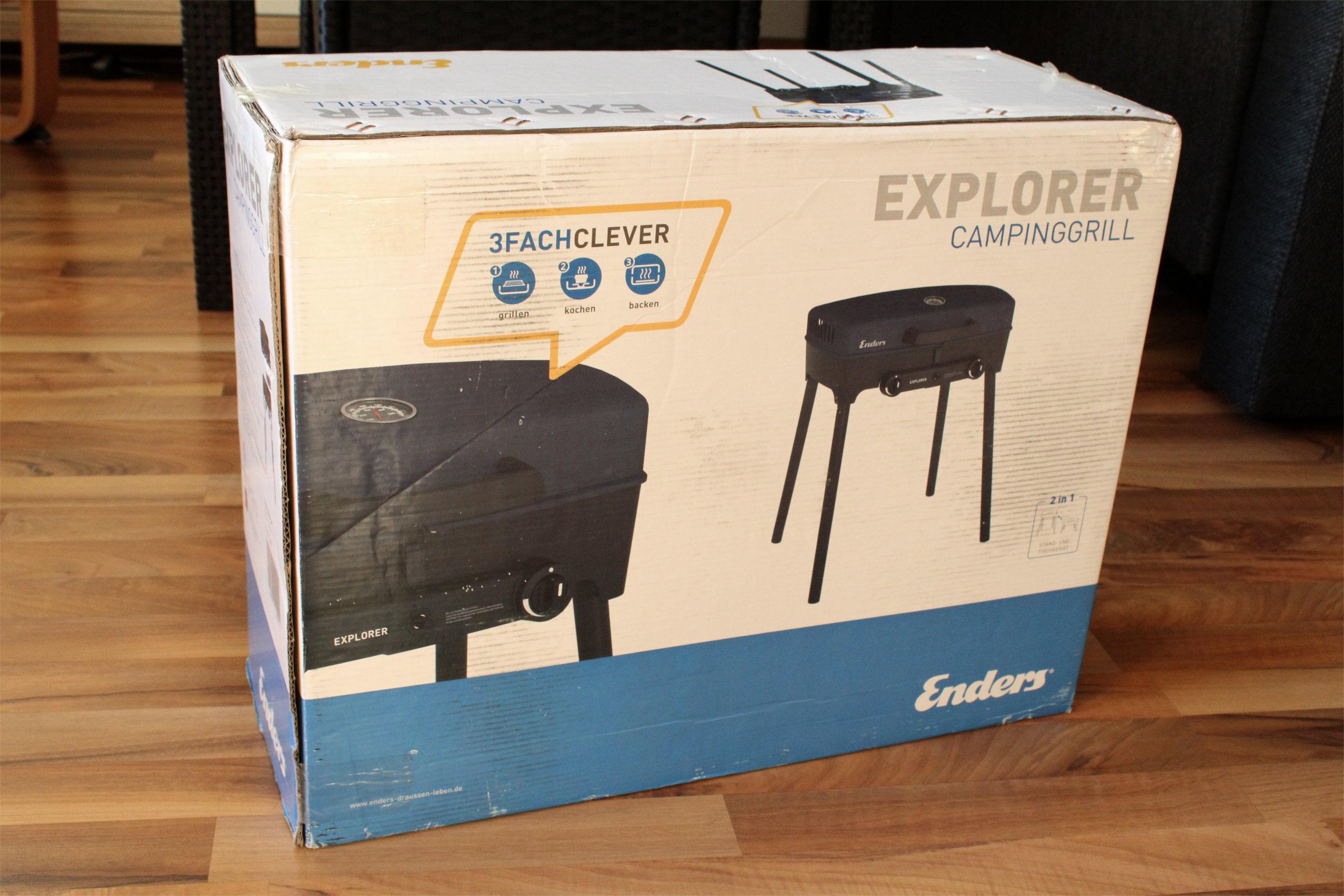 Enders Gasgrill Explorer : Campinggrill test enders explorer gasgrill u das grillmanifest